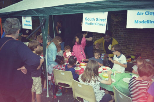 South Street Church Street Party